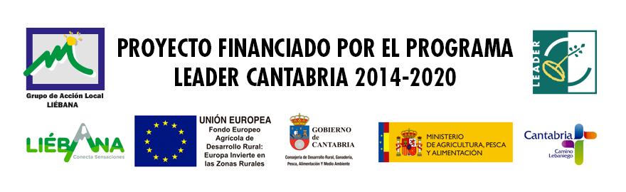 Proyecto Financiado por el Programa Leader Cantabria 2014-2020